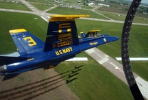 Unites States Navy Blue Angels / The finest flight formation team in the world. Go Navy!