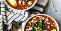 Cozy Winter Recipes / Warm and cozies, snuggle up! Soups and stews. Hearty Grains. Excuses to stay in under the blankets with a warm bowl of goodness.