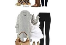 fall and winter multi outfit pins / by Lora Hayes-Albert