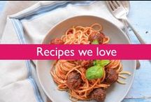 ♣ Recipes we love / Every week we will be posting our very own recipe of the week, follow the link to find out cooking times and the method.