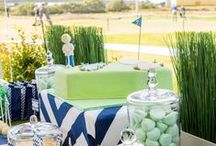 Golf Party / Golf | Birthday | Party | Ideas | Printables | Tips | Cake | Cupcakes | Invitation | Decorations | Favors | Games | Food | SIMONEmadeit.com