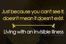 Invisible Illness.