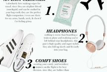 Travel Essentials & Packing Tips / Tips and ideas to make traveling a breeze ✈️