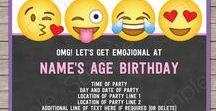 Emoji Theme Birthday Party