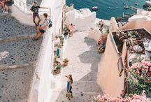 Grécia | Greece / Dicas de viagem e roteiros na Grécia. As praias mais bonitas. Míconos. Santorini. Atenas. Mosteiros. Tessalonika.