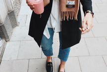 Looks de Outono | Autumn Outfits / Looks inspiradores meia-estação para usar no outono.