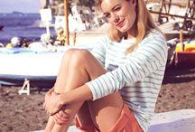 Blusas Listradas | Striped Shirts / Blusas listradas são curinga! Looks certeiros e que não saem de moda nunca.
