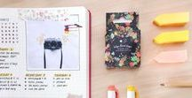 Bullet Journal & Planner Ideas / Bullet journal and planner ideas and inspirations.