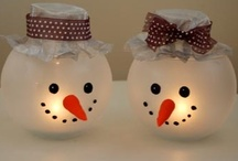 Christmas Craft ideas / Christmas crafts / by Angie Wright