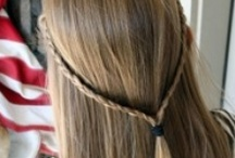 Hairstyles for the girl's / Hairstyles  / by Angie Wright