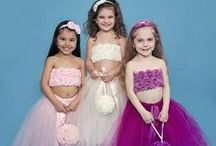 Tutus / Each tutu is made with the softest tulle that won't irritate your little one's skin. They also have an elastic waistband so that it will grow with your child.  / by Trendy Bambini Designer Clothing for Kids