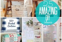 Diy projects / All different kinds of DIY projects!! I think projects like these put a personal touch on Home Decor & are different!!