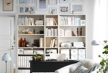 Bookcases & Libraries / by Anita Timms Mordue