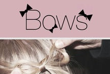 My Name Is Bows. / by Tinker Bows