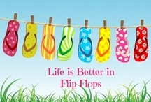 Flip Flops ideas / by Angie Wright