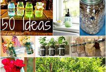 Jars❤️--Endless Possibilities!!!  / DIY Jar Decor.