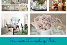 Summer Indoor Decor