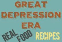 Depression Era Recipes & Tips / Recipes and tips from the Great Depression & WWII era when times were tough. / by Angie Wright