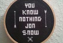 Embroidery/bordados