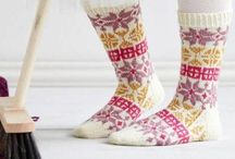 Handicraft: Mittens & Socks / Beautiful patterns and Ideas