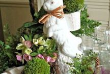 EASTER / Decorations, Party Ideas, Egg Hunts and Easter Tablescapes and Settings / by Beverly McIntyre