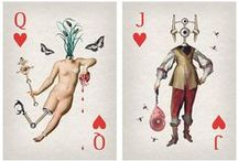 Playing cards and tarots