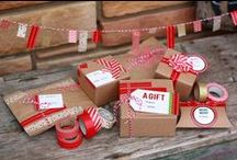 big dreams [of pretty packages] / presents... packages... gifts... all perfectly wrapped and decorates with love and care...