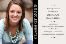 Graduation Announcements High School / by PracticalCollegeMoms