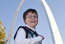 Kids Fighting Cancer / View inspiring photos of children undergoing cancer treatment at St. Louis Children's Hospital.
