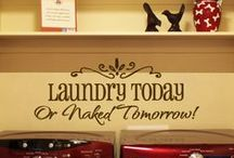 Laundry today or naked tomorrow  / by Courtney Self