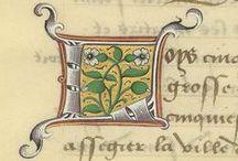 Miniatures médiévales