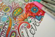 Pen and ink art / by Mardi Sheridan