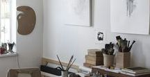 workspace decor / To keep your workspace stylish