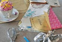 Crafts, Sewing / My collection of favorites, inspirations, ideas that I want to make for family, friends and sell online or at the next craft fair.  / by Carolyn McHand