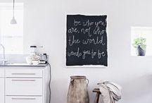 chalkboard / by Mel Ridlon