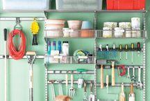 Garage Organization / Get that garage in order.