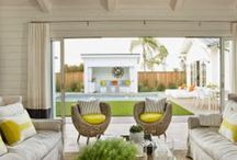 Outdoor Living / Let's relax outside.