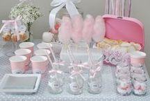Sweet tables | Tables et buffets de fêtes