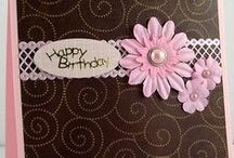BIRTHDAY CARDS / by Sharon Ray