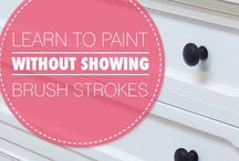 Painting Tips / Paint like a pro.