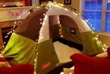 Birthday Theme - Backyard/Indoor Camping ⛺️ / by Mrs M
