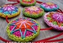Haken/Crochet - sieraden en accessoires