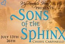 My Family's Heart tour of Sons of the Sphinx - July 13 - 26th, 2015 / Award-winning Sons of the Sphinx tours the planet via My Family's Heart. / by Cheryl Carpinello