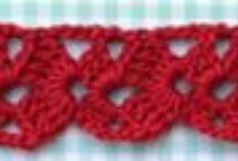 "Edgings - Crocheted / ""The devil is in the details."""