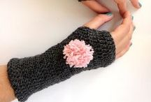 Gloves ~ Wrist Warmers / fingerless gloves and wrist warmers