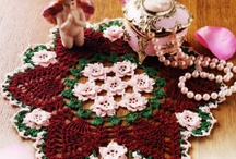 Doily Art II / The work contained on the board just blows me away.  I don't have patterns for all of the pins, but hope to find some of them anyway.  Even after 40+ yrs of crocheting, I feel like a novice when I see these projects. :)