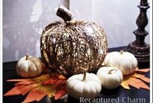 AUTUMN..decor and crafts / by Crystal Fultz