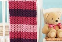 All Things Crocheted ~ Afghans for Kids & Babies