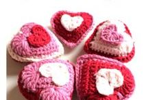 All Things Crocheted  Hearts