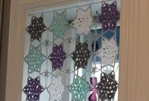 Crocheted Curtains / by Mitzi Christian (krikket207)